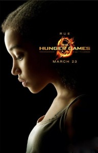 Amandla Stenberg as Rue from The Hunger Games. Copyright Lionsgate.