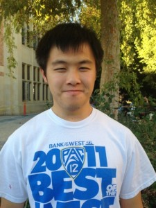 James Lin, second-year Psychobiology student