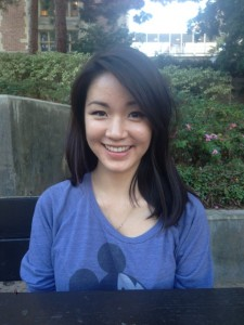 Julia Tran, third-year MIMG student