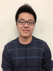 John Murphy, first-year graduate student in Statistics