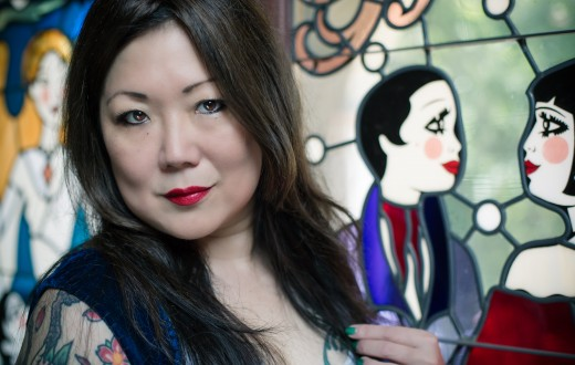 A photo of Margaret Cho by   Mary Taylor.