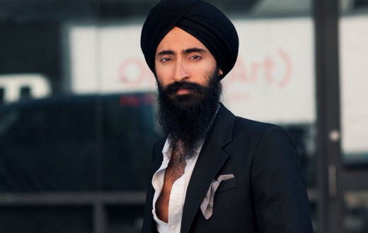 Waris Ahluwalia, 2013. Image from  http://citizencouture.com/2013/11/waris-ahluwalia-nyfwss14/