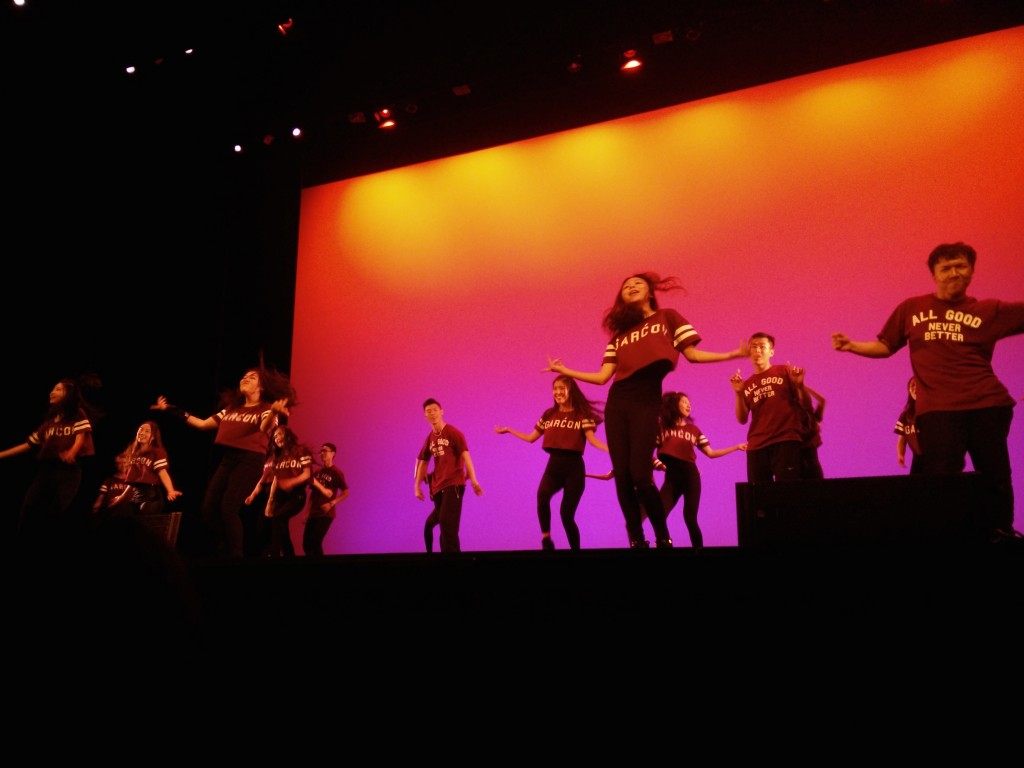 Hip hop performance by CSSA Modern