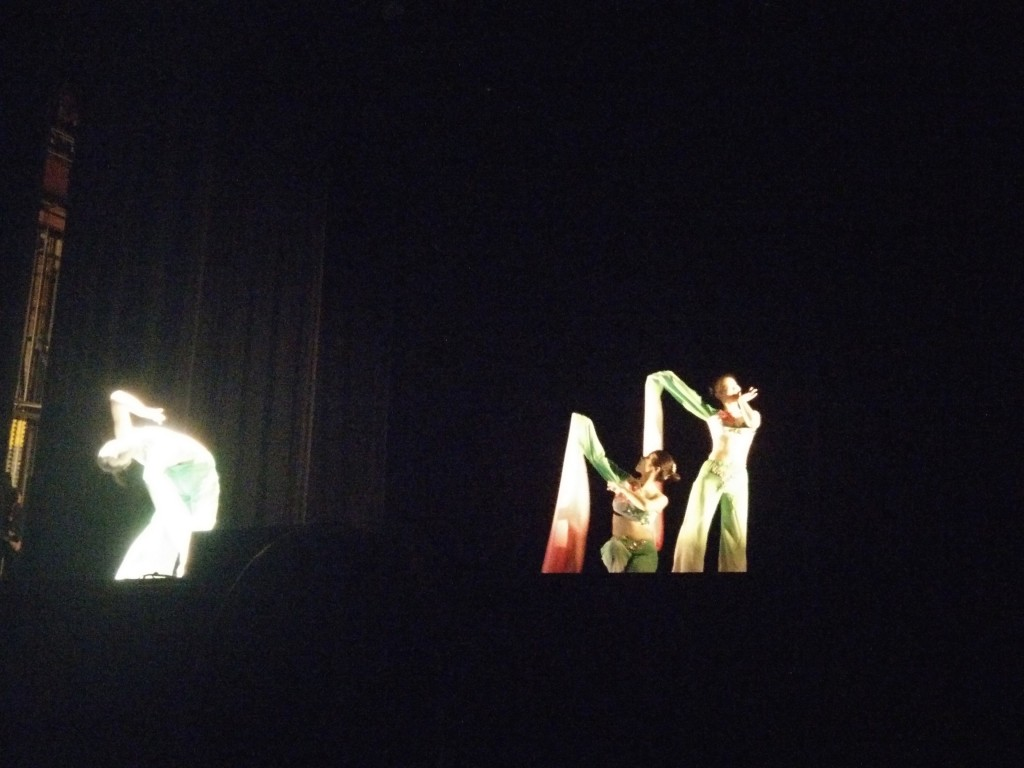 """Chinese Cultural Dance Club performs """"Joyful Spring"""""""