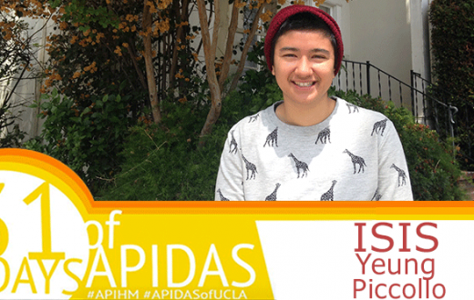 Isis Yeung Piccillo is a third-year Human Biology and Society Major and Gender Studies Minor, who identifies as Mexican-Italian and Chinese.