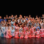 """The entire """"Lotus Steps"""" cast, including non-CCDC members. Photo credit: CCDC"""