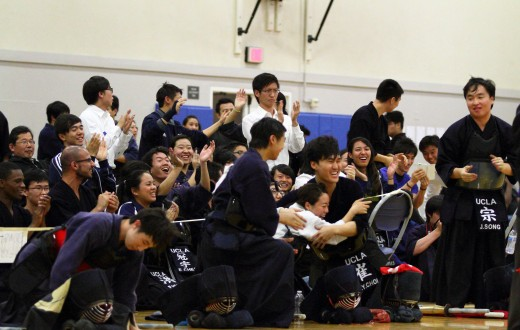 Photo courtesy of Dennis Ralutin and the UCLA Kendo Club
